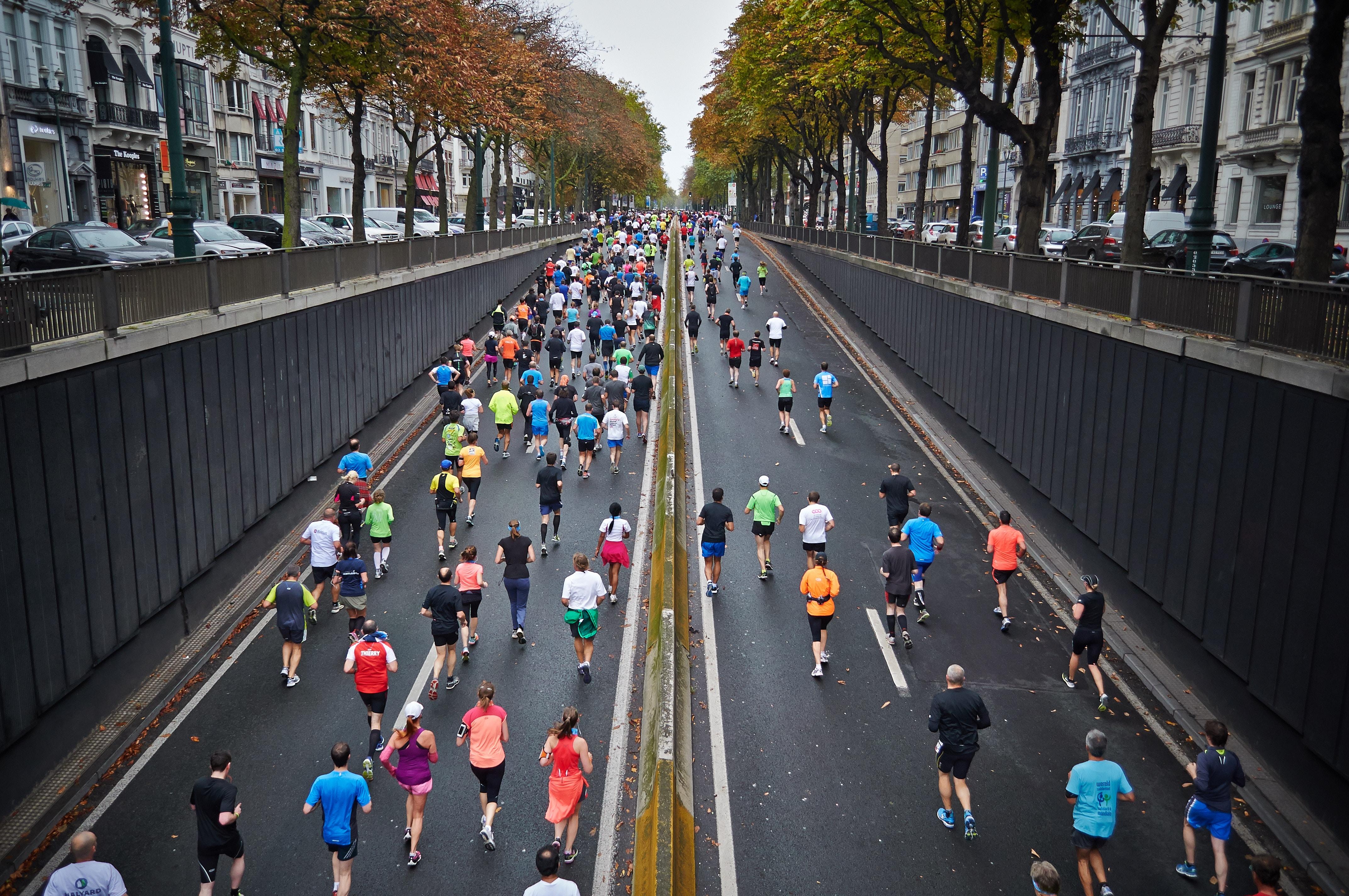 Så undviker du vätskebrist vid maratonlöpning